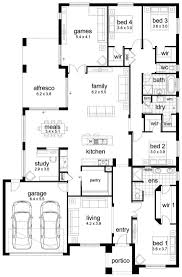 house plans 4 bedroom 3 bath plan kevrandoz