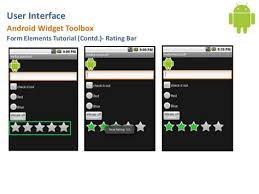 tutorial android user user interface tutorial android