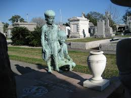 Map Of Celebrity Homes In New Orleans by Metairie Cemetery Wikipedia