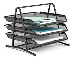 Office Desk Tray Letter Tray 3 Tier Office Desk Organizer By Mindspace