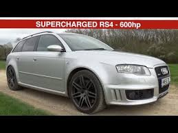 supercharged audi rs4 for sale supercharged audi rs4 b7 review 600hp
