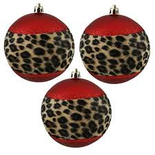 leopard print decorations lights card and decore