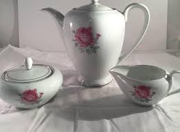 imperial china 6702 china japan imperial tea coffee pot service 3 pcs 6702