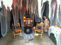 Decorating The House For Halloween Halloween Garage Decorations Halloween Decor Fall Pinterest