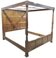 Henredon King Size Bedroom Set Henredon Heritage Walnut Canopy Bed For Sale At 1stdibs