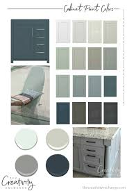 what wall color looks with grey cabinets 30 beautiful cabinet paint colors for kitchens and baths