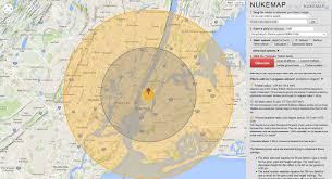 Nuclear Fallout Map by How Would A Nuclear Bomb Affect Your Area