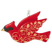 porcelain cardinal ornament keepsake ornaments hallmark