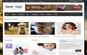 blogger best free premium magazine creative blogger templates by