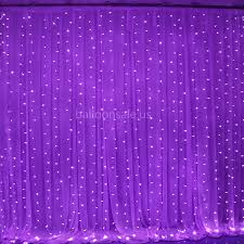 cheap 300led purple lights curtain backdrop for wedding for
