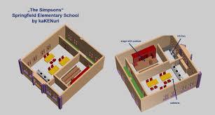 Simpsons House Floor Plan Lego Ideas Simpsons Springfield Elementary