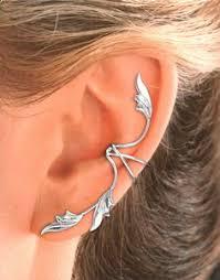 ear cuffs ireland bajoran fairy elven forest ear cuff earring 30 00 via etsy