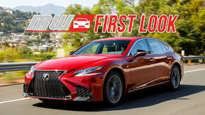 lexus ls 430 massage 2018 lexus ls 500 first look youtube