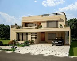 image of house 3d beautiful contemporary hosue with stunning interior home design
