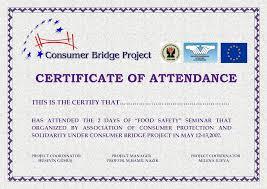 doc 585410 attendance certificate template free u2013 attendance