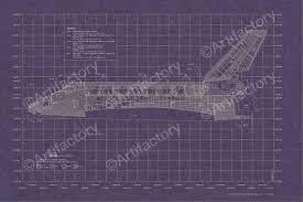 space shuttle insulation layout set of 4 blueprints 819387010348