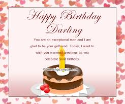Samples Of Birthday Wishes Birthday Wishes For Boyfriend And Boyfriend Birthday Card Wordings
