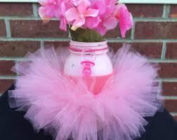 it u0027s a baby shower decor painted pink mason jar