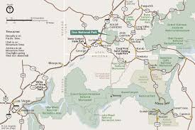 Utah National Park Map by Mapping Out Zion National Park Coral Springs Resort Blog
