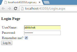 forms authentication in asp net