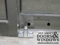 Patio Door Bolt Lock How To Install Sliding Door Bolt Locks