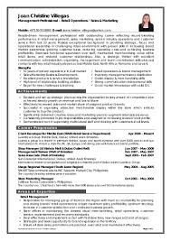 Sales Associate Resume Example Resume Sample For Manager Trainee Augustais