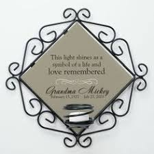 Personalized Remembrance Gifts Engraved Memorial Candle Holder Memorial Gifts Pinterest