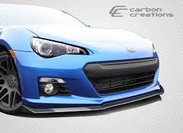 eagle eye subaru 2013 2016 subaru brz carbon fiber st c front lip under spoiler air