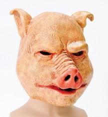 scary mask horror pig scary fancy dress mask royal bacon society