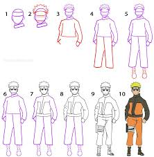 tutorial naruto how to draw naruto step by step drawing tutorial with pictures