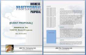 sample resume for marriage proposal event proposal template free formats excel word