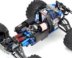 monster truck nitro games revo 3 3 4wd rtr nitro monster truck w tqi blue by traxxas