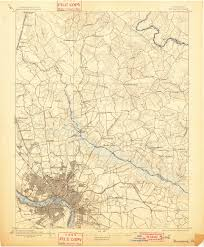 Map Of Richmond Virginia by Usgs Topographic Maps Of Richmond Church Hill People U0027s News