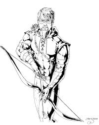 green arrow drawings sketch coloring page