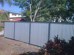 install steel fence panels posts design u0026 ideas