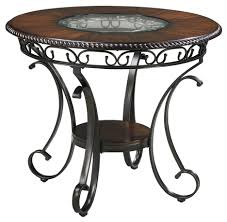 signature design by ashley glambrey round dining room counter