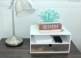 decorative charging station remodelaholic get rid of cord clutter with these 25 diy charging