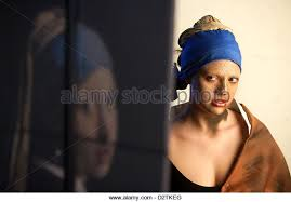 girl pearl earing girl pearl earring vermeer stock photos girl pearl earring