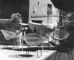 bertoia two tone diamond chairs in rome italy pc klaus zougg