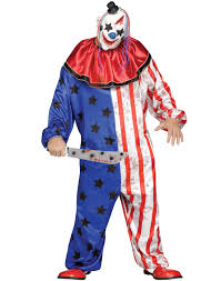 patriotic halloween costumes evil patriotic killer clown purge halloween costume plus