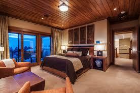 house tours wood ceiling treatments bedroom design frank lloyd