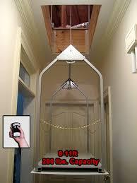 wireless remote attic lift