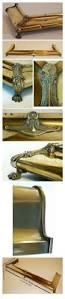 fire kerb fender fireside hearth brass guard antique 93371