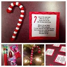 great sunday craft candy cane ornaments made from pony