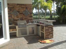 furniture prefab outdoor kitchens with ink and cabinets for