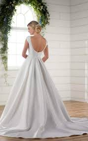 Modest Wedding Dress Modest Wedding Dress With Sleeves Essense Of Australia