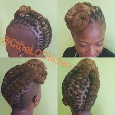 locs locs with color ombre wedding hair loc styles updos loc
