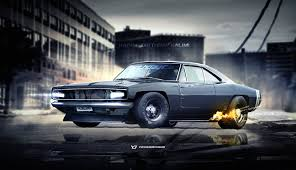 gas monkey porsche ls3 dodge charger by yasiddesign from the right angle pinterest