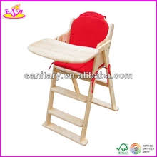 Wooden High Chair For Sale Wholesale Wooden Baby Chair Comfortable Wooden Toy Baby Feeding