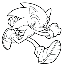 coloring pages sonic printable sonic printables sonic printable